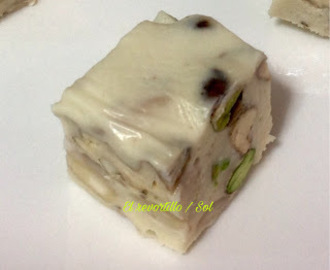 TURRON DE QUESO CON FRUTOS SECOS