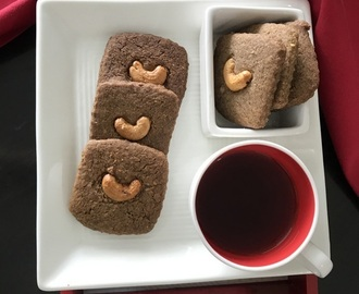 Ragi Cookies with Cashews