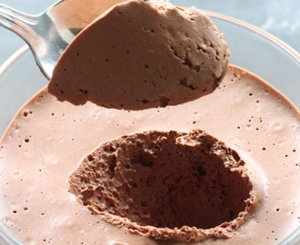 Mousse de Chocolate Paleo