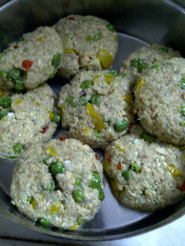 Salmon Fishcake With Oats & Quinoa