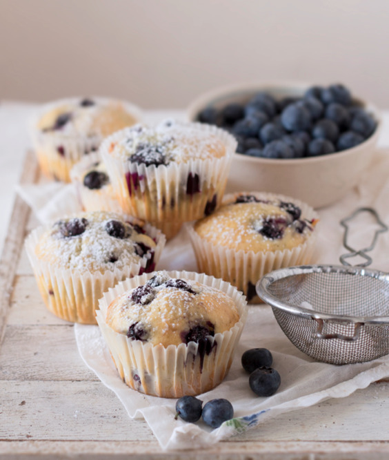 Blueberry (cheesecake) muffins