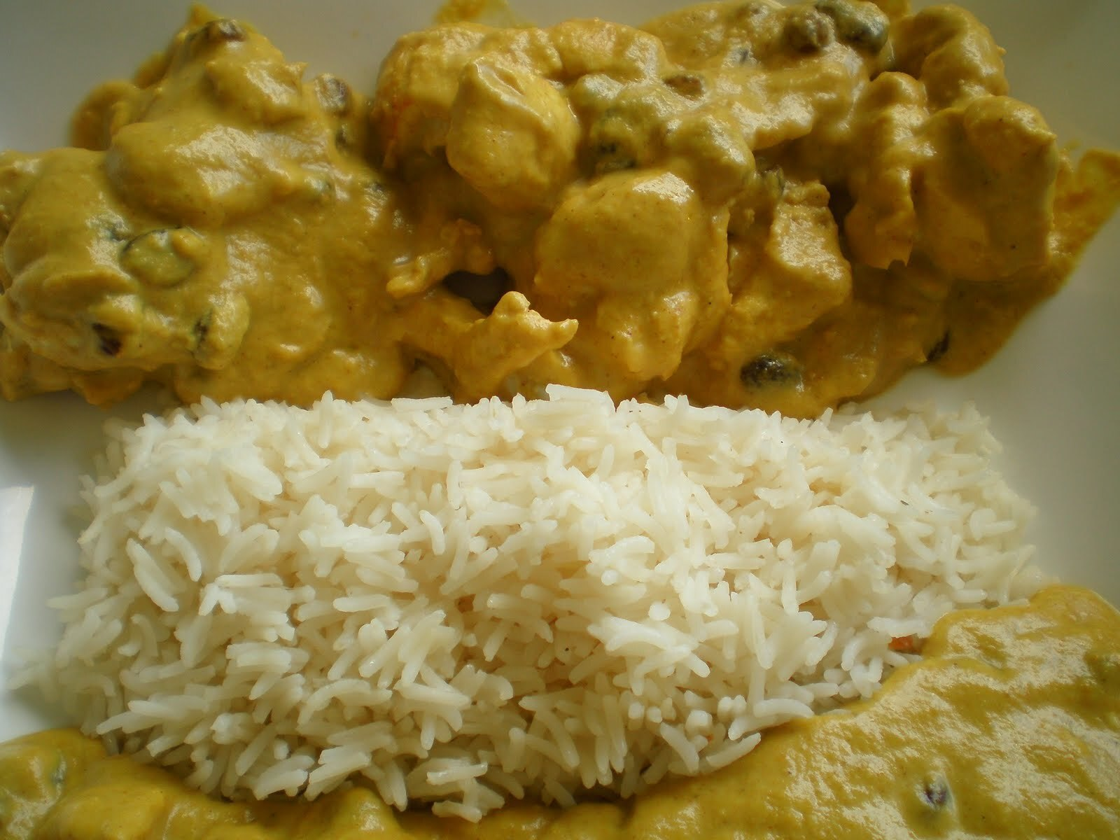 Pollo al curry en Thermomix