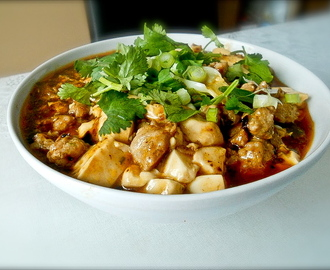 Easy way making fiery Mapo tofu recipe
