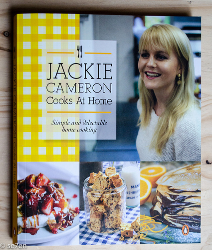 Jackie Cameron Cooks At Home – A Review…