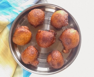UNNIYAPPAM I SWEET BANANA FRITTERS I INDIAN SNACKS