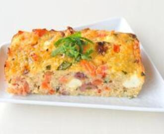 Quinoa Crustless Quiche