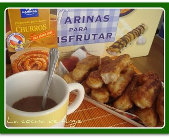 "CHOCOLATE CON CHURROS ""HARIMSA"""