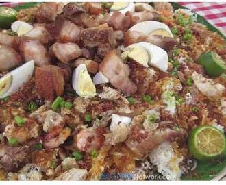 Recipe: Crispy Palabok with Lechon