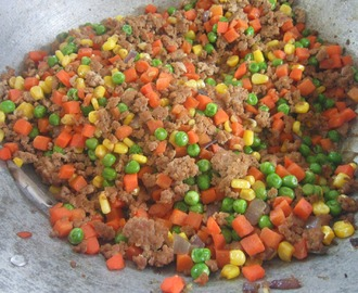 PORK GINILING with MIX VEGETABLES