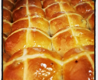 My hot cross buns recipe