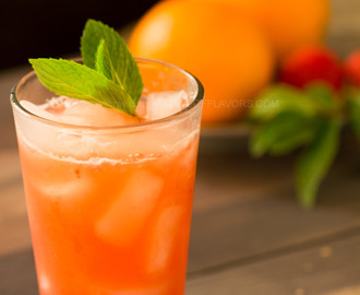 Orange Mint Iced Tea