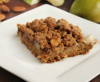 Wholemeal Apple and Walnut Slice