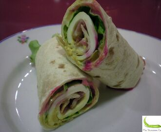 WRAP BACON MOSTAZA