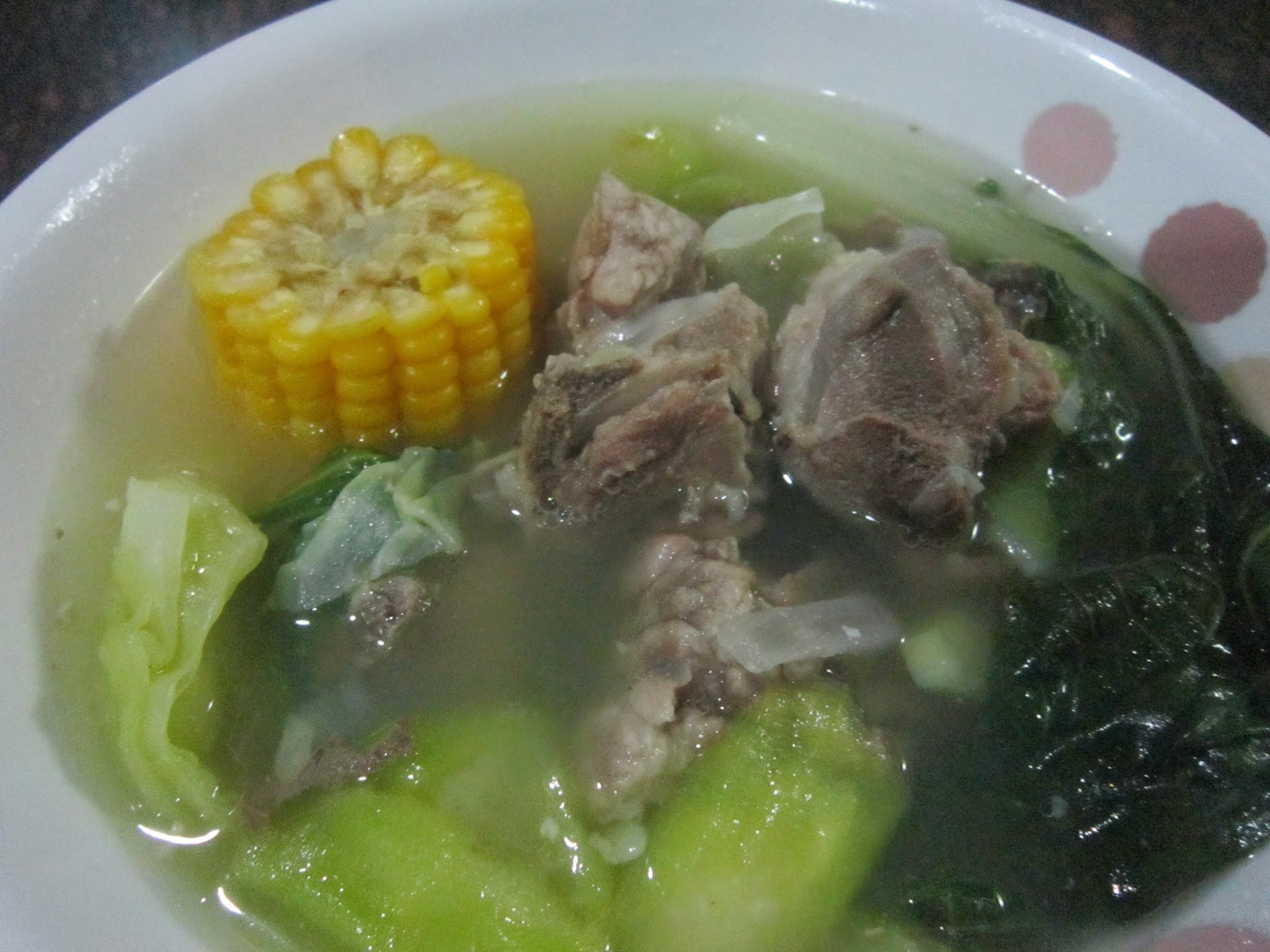 NILAGANG BUTO-BUTO na may MAIS at PATOLA