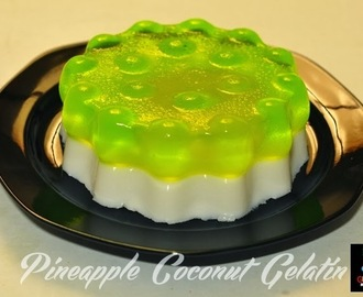 PINEAPPLE COCONUT GELATIN