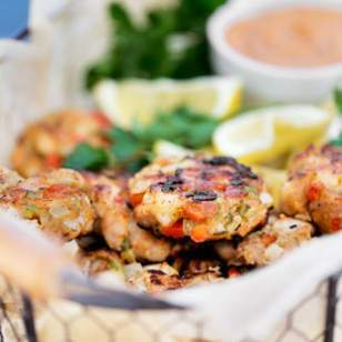 Shrimp Cakes with Spicy Cajun Mayo