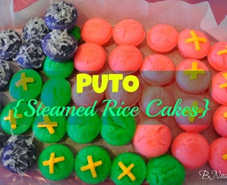 Filipino Puto (Steamed Rice Cakes)