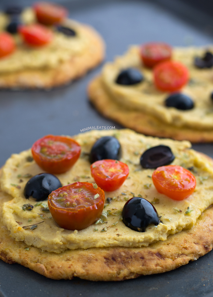 Cauliflower Pizza Crust (Vegan and Gluten Free )