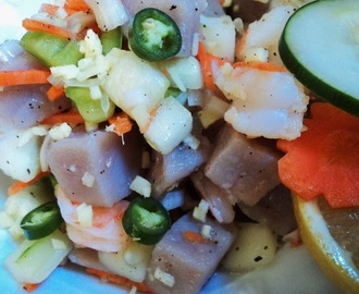 Kinilaw (Raw Fish Salad / Filipino Ceviche)