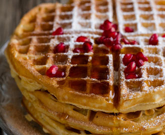 Malted Buttermilk Waffles