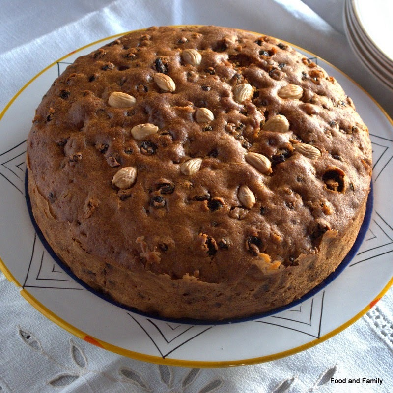 Plain Fruit Cake - No Icing Required