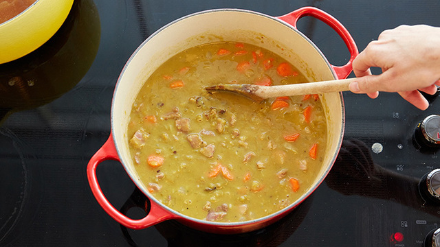 How to Make The World's Best Split Pea Soup