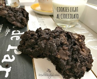 Cookies light al cioccolato