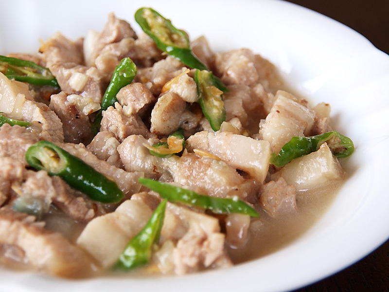 Original Bicol Express Recipe