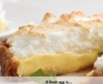 Creamy Lemon Meringue Pie <br><span style='font-size: 18px;'>Sweet & different!</span>