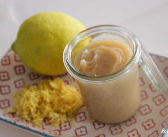 Zitronencreme – vegan Lemon Curd