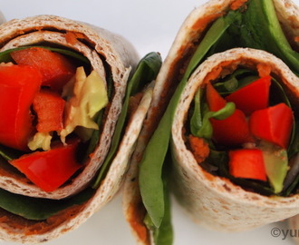 Mini Salad Wraps