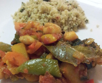 Vegetarian Bean Curry