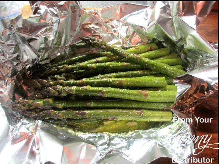 Grilled/Roasted Asparagus In Foil