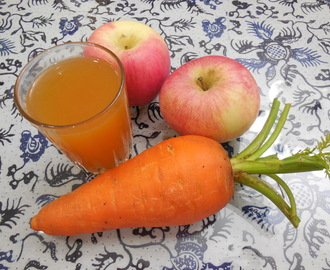 The Juice Experiment #2 Carrot and Apple Juice