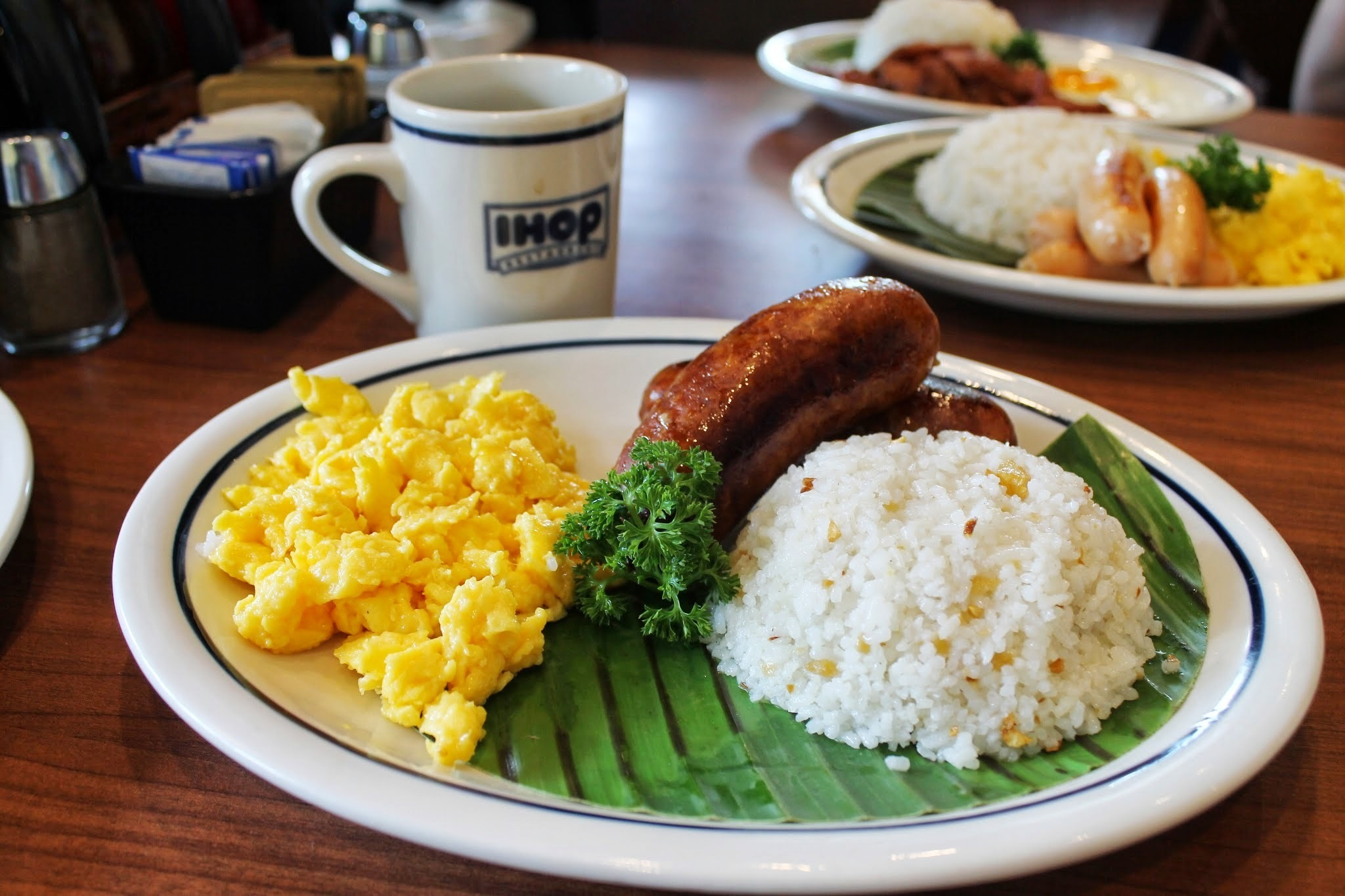 IHOP Rsstaurant's Filipino Breakfast Dishes