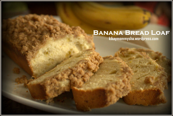 KMS Bakes: Banana Bread Loaf