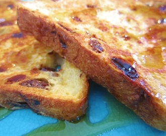 Panera Bread Custard French Toast