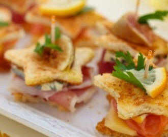 "Finger food veloci: mini toast fritti alla ""croque monsieur"""