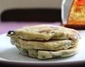 Blueberry-Banana Beer Pancakes