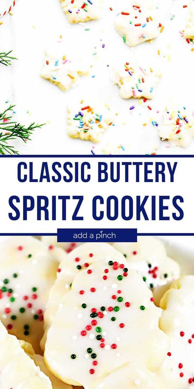 Classic Buttery Spritz Cookies Recipe