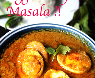 Egg Curry Masala !!