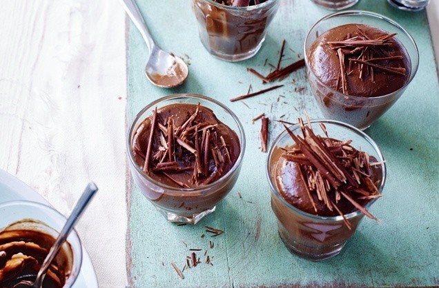 Chocolate and avocado mousse recipe