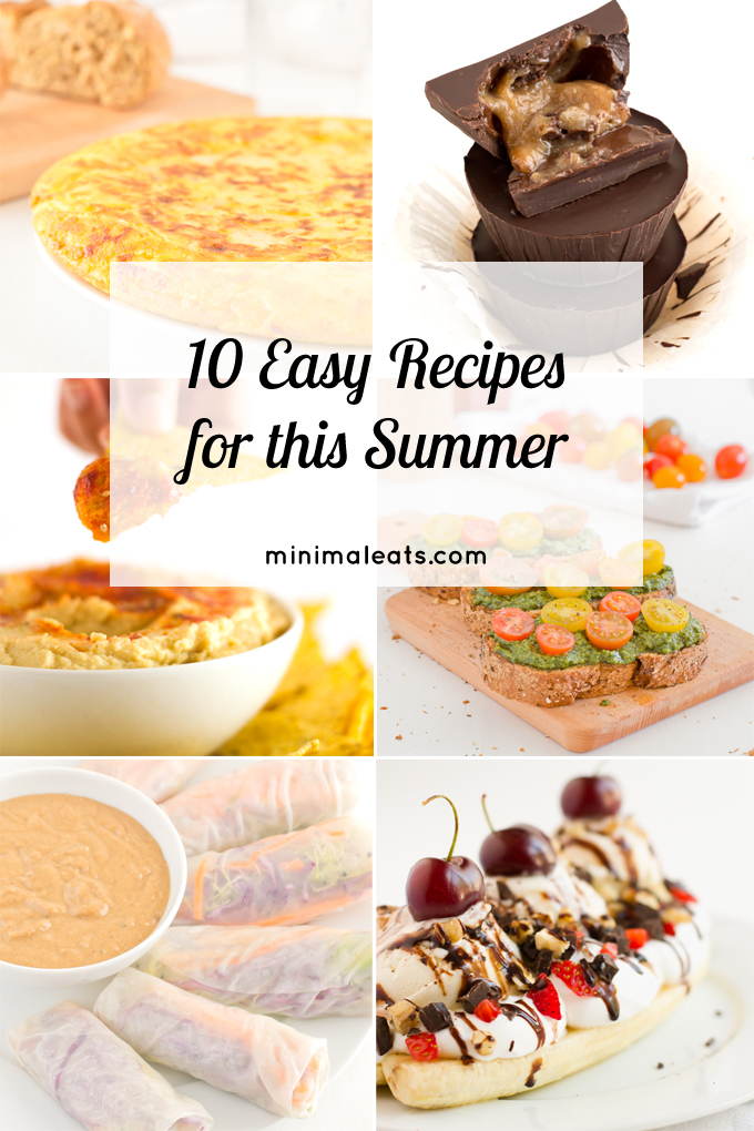 10 Easy Recipes for this Summer