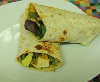 Deliciously Nutritious Stir Fry Wraps