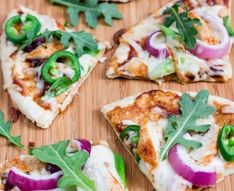 BBQ Chicken Pizza Recipe - A delicious Spring Dinner!