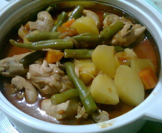 Mom's recipe: my CHICKEN MECHADO