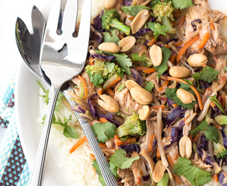 Thai Peanut Chicken Recipe