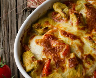 Chicken and Artichoke Bake