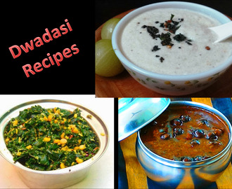 Dwadasi Recipes