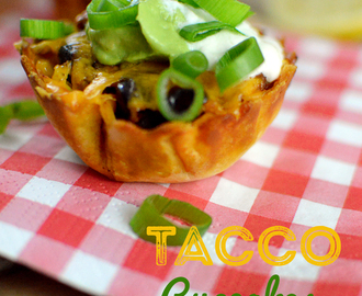 Tacco Cupcakes – leckere Partyfood-Idee